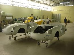 Beck 356 Porsche Speedster and Chamonix 550 Spyder Replica / Kit Cars