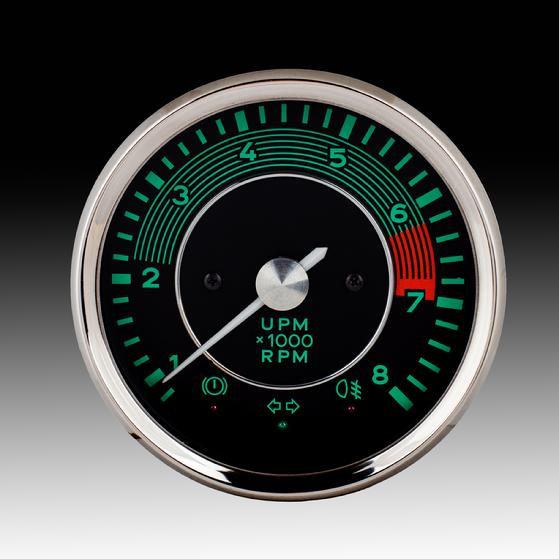 BECK Sdster, BECK Spyder, BECK Roadster and BECK GTS on playback tachometer, bosch tachometer, digital tachometer, auto meter tachometer, faria tachometer, led tachometer, six-cylinder tachometer, racing tachometer, teleflex tachometer, smiths tachometer, marine tachometer, mallory tachometer,