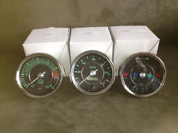 beck speedster, beck spyder, beck roadster and beck gts356 Tach Wiring #17